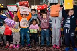 """Spendenaktion """"Weihnachten im Schuhkarton"""""""