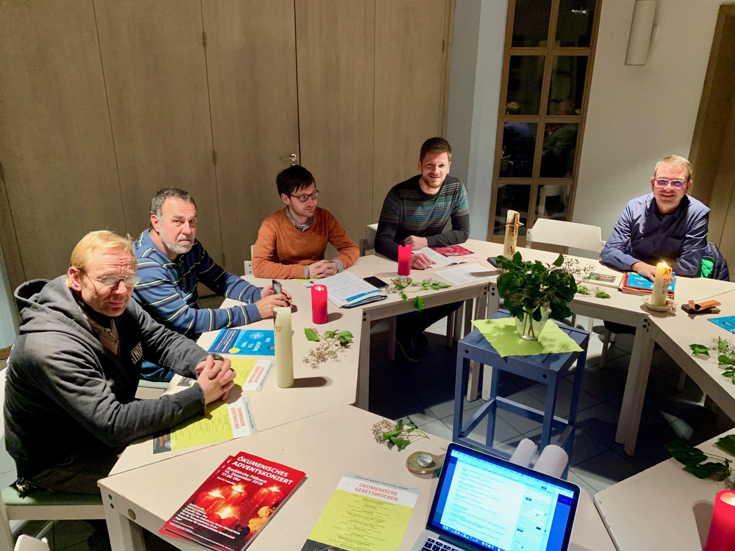 Siegfried Reiher, Thomas Hubich, Cornelius Hofmann, André Jahn, Ralf Franz
